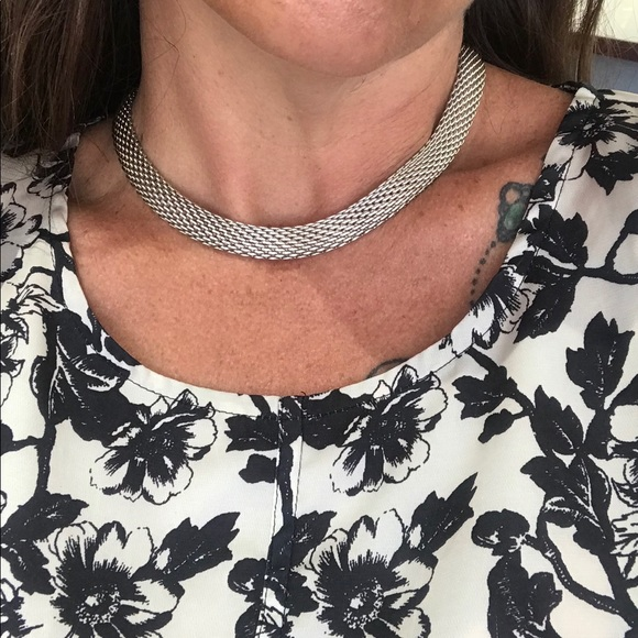 Tiffany & Co. Jewelry - Authentic Tiffany Somerset Mesh Necklace